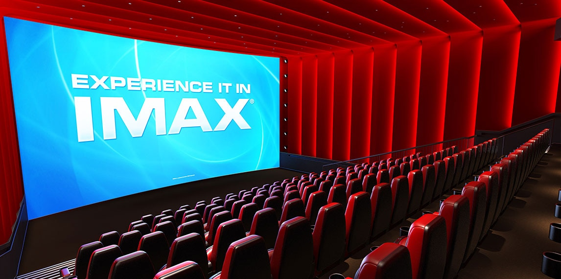 Large IMAX cinema space with seating.