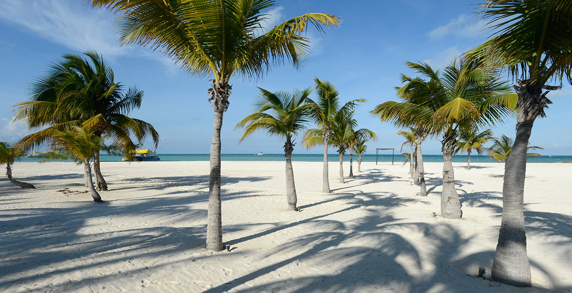Passion Island in Cozumel, Mexico.