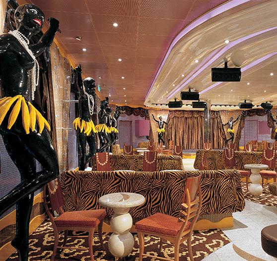 Lounge area on Carnival Valor.