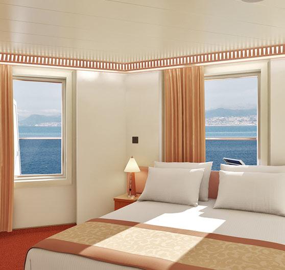 Premium vista balcony stateroom on carnival valor.