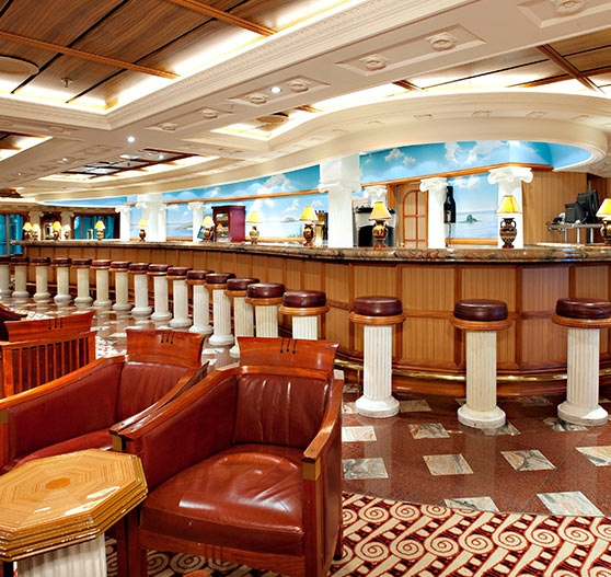 Ionian room interior on Carnival victory.