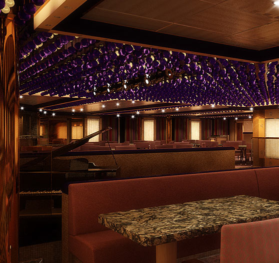 The Chefs Art Steakhouse on Carnival Dream.